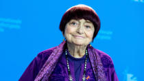 The queen of the French New Wave, Varda kept on directing films right up until her death from <em>Vagabond</em> through to <em>Faces Places</em>. She died of cancer on 29 March. (Credit: Manuel Romano/NurPhoto via Getty Images)