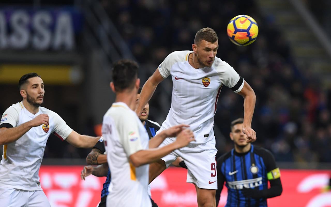 Chelsea working to complete deal for Roma duo Edin Dzeko andEmerson Palmieri