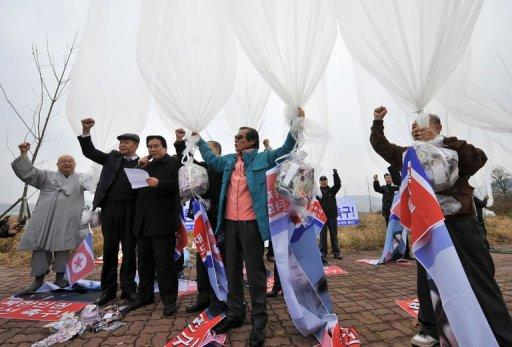 Balloon launches to North Korea take place regularly and are usually carried out by three distinct groups