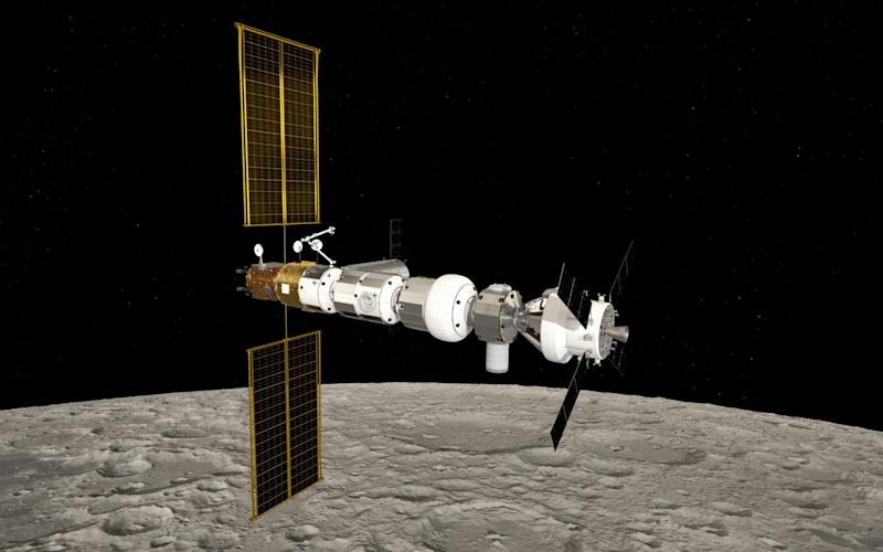The lunar gateway will come within 2,000 miles of the Moon's surface