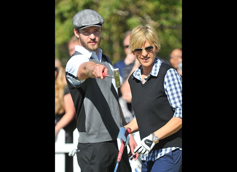 We want to play a round of golf with these two! Where do we sign up?
