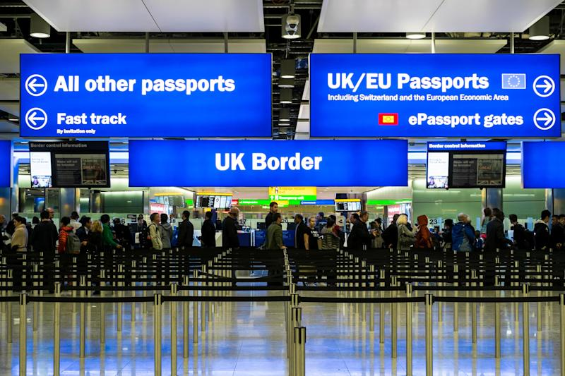 The survey found Scots want free movement from the EU to end - Credit: wronaphoto.com / Alamy