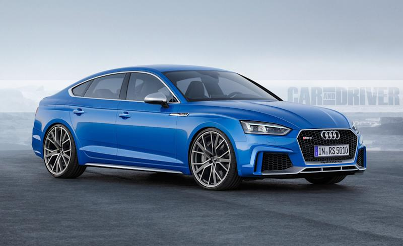 2018 Audi RS5: Two Turbos, Much Power, Available Hatchback