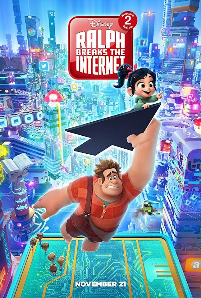 "<p>Lovable ""bad guy"" Ralph is back, and this time he has to navigate the internet to help save a broken game.</p><p><a class=""body-btn-link"" href=""https://www.netflix.com/title/80221640"" target=""_blank"">STREAM IT</a></p>"