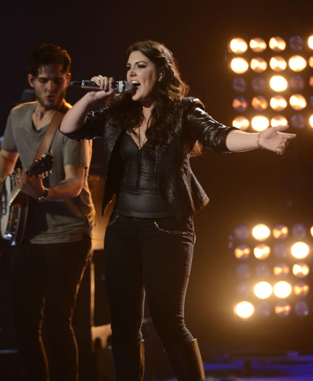 "Kree Harrison performs ""Better Dig Two"" on the Wednesday, May 8 episode of ""American Idol."""