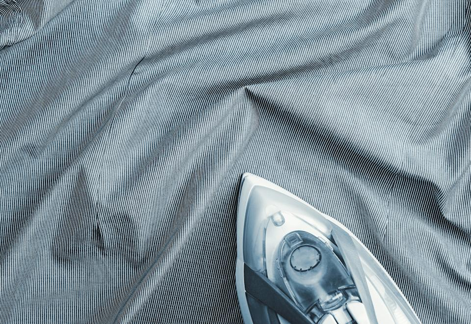 Ironing is a thing of the past. With a steamer, you can get the same results, without the fuss. (Photo: Getty Images)