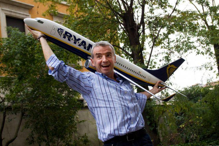 Ryanair boss Michael O'Leary has said the EU wants Britain to 'suffer' for Brexit (Massimo Di Nonno/Getty Images)