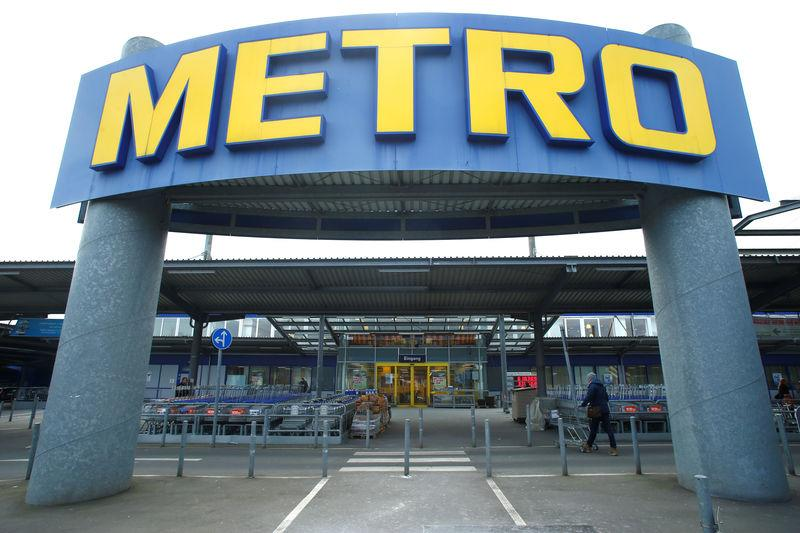 FILE PHOTO: One of German retailer Metro AG's stores in Duesseldorf, Germany, March 02, 2018. REUTERS/Thilo Schmuelgen/File Photo