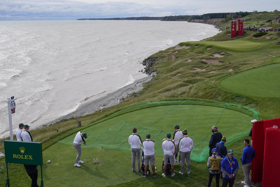 Ryder Cup Practice Rounds