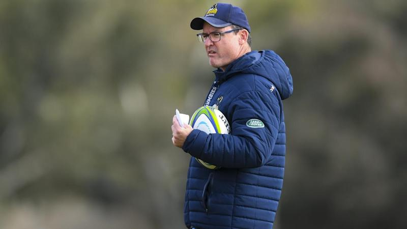 SUPER RUGBY BRUMBIES TRAINING