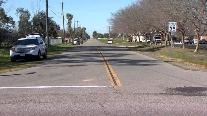 Newborn baby discovered lying on road in near-freezing temperatures