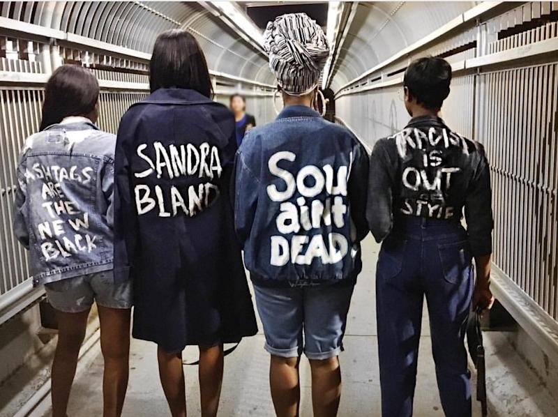 Fashion activism. (Photo: Courtesy of Shayla Janel Hill/Curtis Williams)
