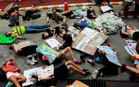 Climate strikes - Credit: CLIMATE-CHANGE/STRIKE-THAILAND