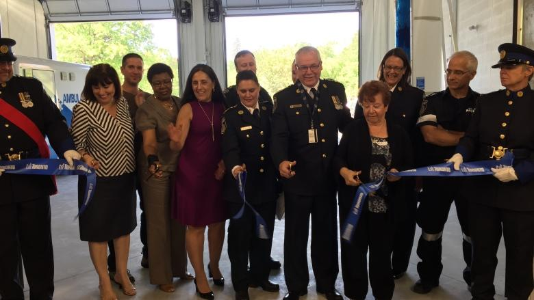 Neighbours hope Toronto's newest paramedic station will speed up response times, save more lives