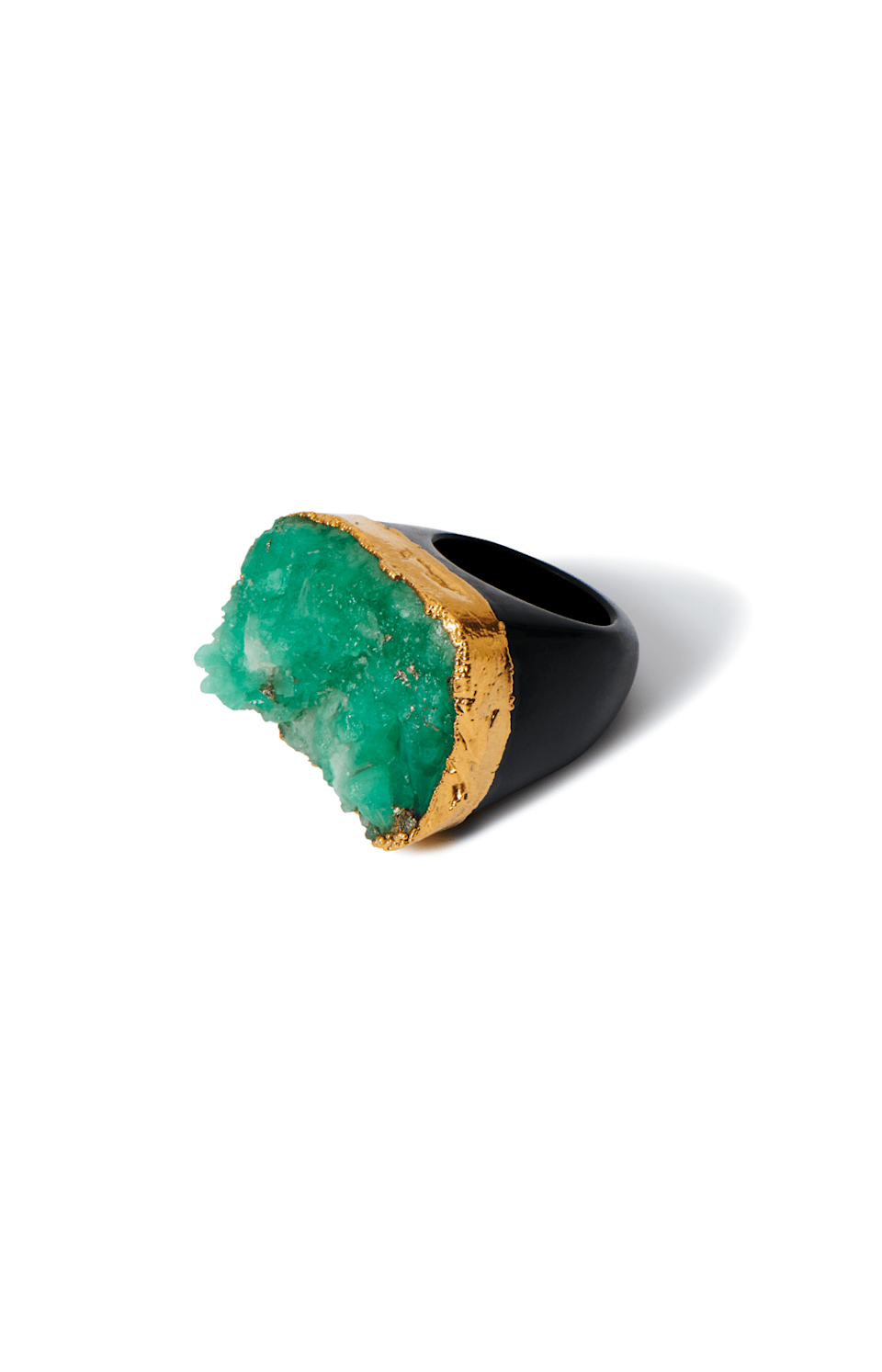 "<p>americae.com</p><p><strong>$278.00</strong></p><p><a href=""https://americae.com/collections/jewelry/products/raw-emerald-ring"" rel=""nofollow noopener"" target=""_blank"" data-ylk=""slk:BUY IT HERE"" class=""link rapid-noclick-resp"">BUY IT HERE</a></p><p>If her jewelry taste skews bolder, this raw emerald rock ring is a statement maker to covet. Whether she's graduating from high school or college, this cocktail ring will be her go-to bling at future events and dinner parties. </p>"