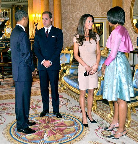 Prince William, Kate Middleton Congratulate President Obama on Re-Election in Personal Note