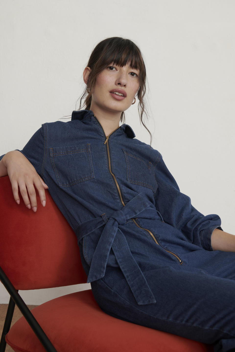 ANYDAY's Denim Jumpsuit is high on our wish list this season. (John Lewis & Partners)