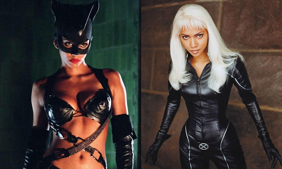 <p>Halle Berry is still going strong as the original Storm in the<em> X-Men</em> franchise (for the time being) but she also had a go at playing Catwoman in the DC Comics character's solo film. More recently, Halle appeared as Statesman agent Ginger in <em>Kingsman: The Golden Circle</em>. </p>
