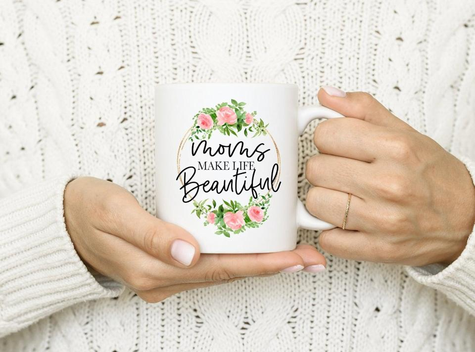 <p>With the help of this <span>Mother's Day Mug</span> ($18, originally $20), you can bring your mom breakfast in bed.</p>
