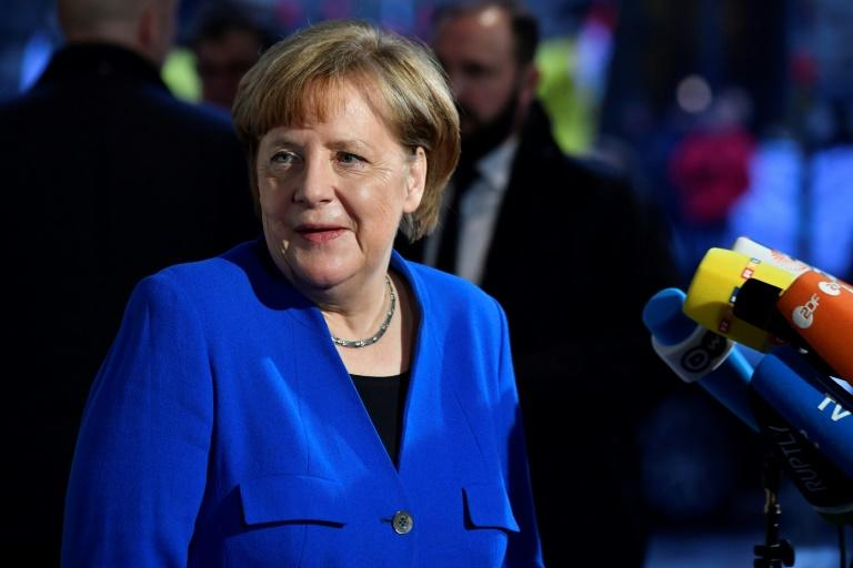 <p>Rank 1. German Chancellor Angela Merkel </p>