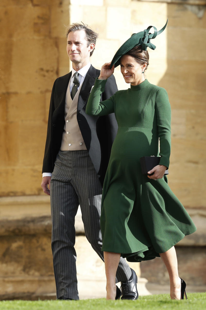 Kate Middleton's sister Pippa Matthews with her husband James Matthews.