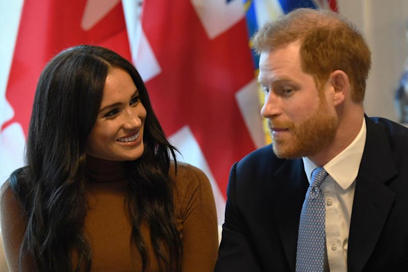 The couple recently visited Canada House in London to thank the country for its hospitality: Getty