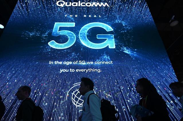 Qualcomm, the dominant maker of smartphone processors, abused its market position at the expense of consumers and device makers, according to a US antitrust ruling (AFP Photo/Robyn Beck)