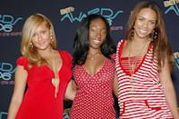 """<p>Adrienne Bailon is a brand unto herself—the host of <em>The Real</em>, she was also a recurring face on early seasons of <em>Keeping Up With the Kardashians</em>, thanks to her relationship with Rob—but her fame all started in 1999 with a girl group called 3LW. You might remember the group's extremely catchy hit """"No More (Baby I'ma Do Right)."""" How could you not?</p>"""
