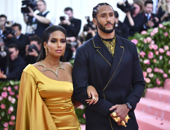 "Nessa Diab is not letting the NFL off the hook for calling Colin Kapernick ""retired."" (Photo by Charles Sykes/Invision/AP)"