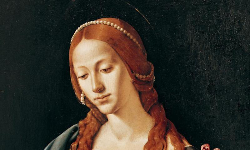Mary Magdalene by Piero di Cosimo, painted in the early 16th century