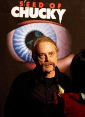 """Premiere: <a href=""""/movie/contributor/1800020771"""">Brad Dourif</a> at the Los Angeles premiere of Rogue Pictures' <a href=""""/movie/1808405790/info"""">Seed of Chucky</a> - 11/10/2004<br>Photo: <a href=""""http://www.wireimage.com/"""">Amy Graves, WireImage.com</a>"""