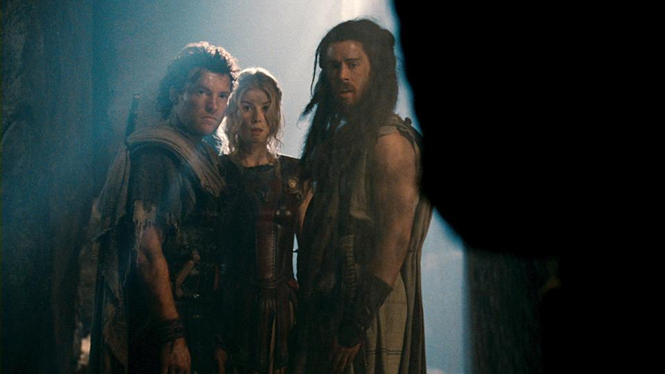 "Sam Worthington, Rosamund Pike and Toby Kebbell in Warner Bros. Pictures' <a href=""http://movies.yahoo.com/movie/wrath-of-the-titans/"" data-ylk=""slk:Wrath of the Titans"" class=""link rapid-noclick-resp"">Wrath of the Titans</a> - 2012"