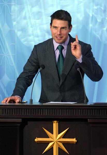 Hollywood actor Tom Cruise is a member of the Church of Scientology (AFP Photo/Pierre-Philippe Marcou)