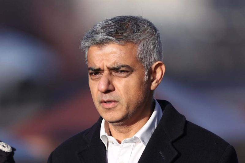 Mayor of London Sadiq Khan: PA