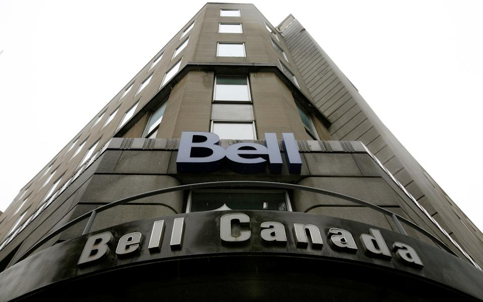 A Bell Canada office is pictured in downtown Ottawa November 26, 2008.    REUTERS/Chris Wattie/File Photo                 GLOBAL BUSINESS WEEK AHEAD PACKAGE - SEARCH 'BUSINESS WEEK AHEAD 31 OCT'  FOR ALL IMAGES