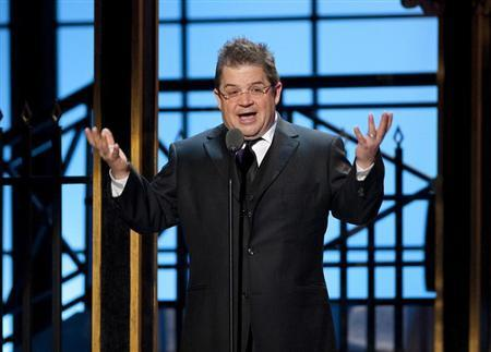 Comedian Patton Oswalt speaks during the second annual 2012 Comedy Awards in New York City