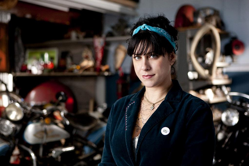 "Danielle Colby Cushman ""American Pickers."""
