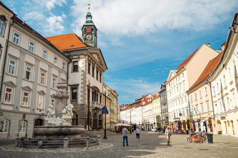The pretty Slovenian capital, Ljubljana - Credit: andrii_lutsyk - Fotolia