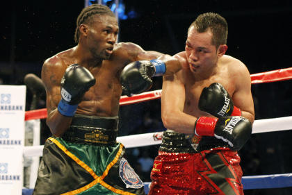 Nicholas Walters (L) made his name by knocking out Nonito Donaire in in 2014. (AP)