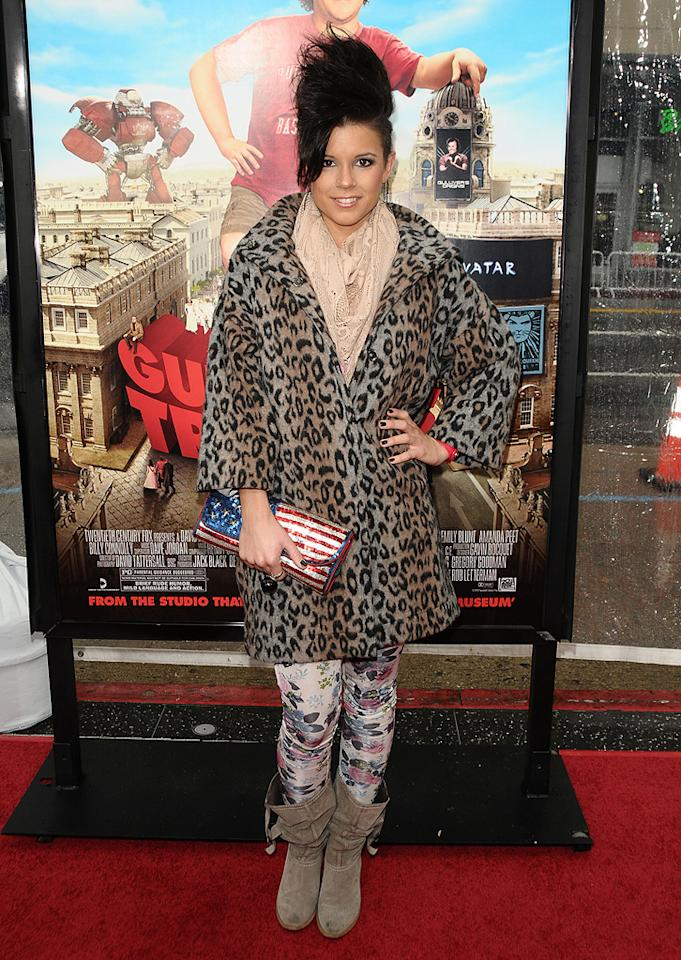 "Manou German at the Los Angeles premiere of <a href=""http://movies.yahoo.com/movie/1810107830/info"">Gulliver's Travel</a> on December 18, 2010."