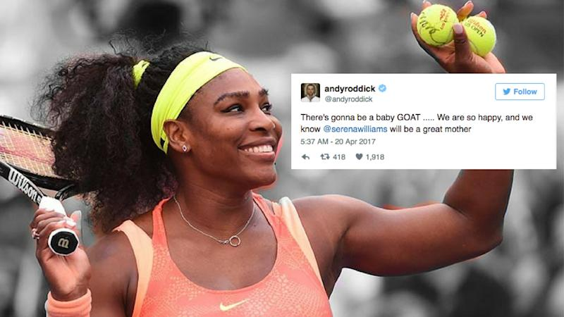 Baby 'GOAT' Soon? Twitter Reacts to Serena William's Pregnancy