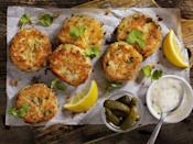 "<p>No matter the season, really, Maryland crab cakes will always reign supreme.</p><p>Get the <a href=""https://www.delish.com/cooking/recipe-ideas/recipes/a58704/best-crab-cakes-recipe/"" rel=""nofollow noopener"" target=""_blank"" data-ylk=""slk:recipe"" class=""link rapid-noclick-resp"">recipe</a>.</p>"