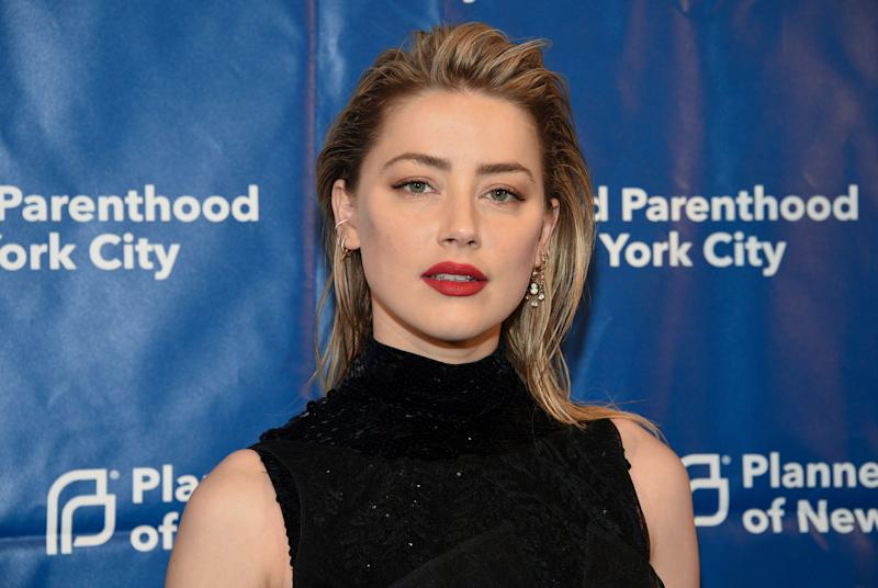 Actress Amber Heard attends the Planned Parenthood of New York City spring gala benefit at Center415 on Wednesday, May 1, 2019, in New York. (Photo by Evan Agostini/Invision/AP)