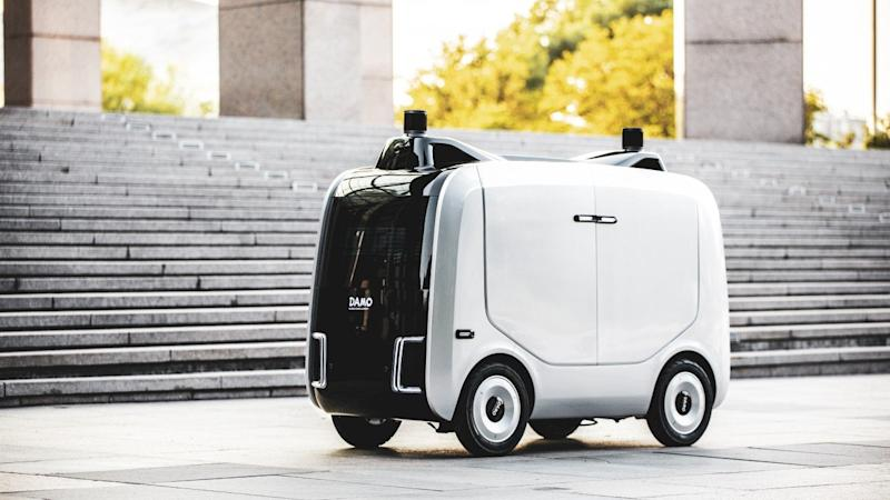 Alibaba launches logistics robot for last-mile deliveries to lower costs and as pandemic pushes automation
