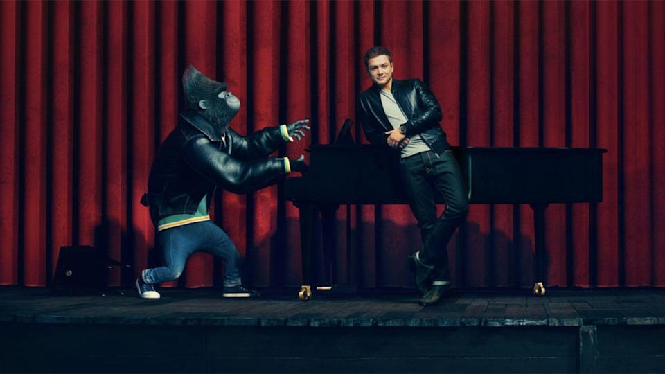 Taron Egerton plays Johnny the gorilla in Illumination's 'Sing' (Credit: Universal Pictures)