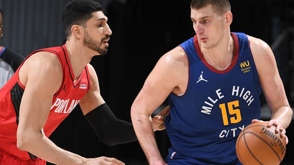 Nikola Jokic was the runaway winner of the 2021 NBA MVP, becoming the first Denver Nuggets player to win the award. (Photo by Garrett Ellwood/NBAE via Getty Images)