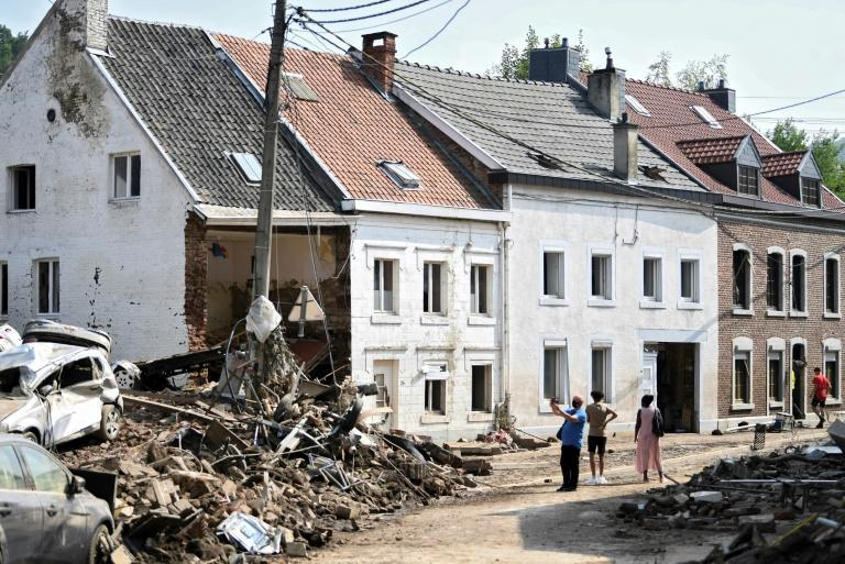 In Belgium the clean-up is still under way to help regions hit hardest recover from the scenes of destruction