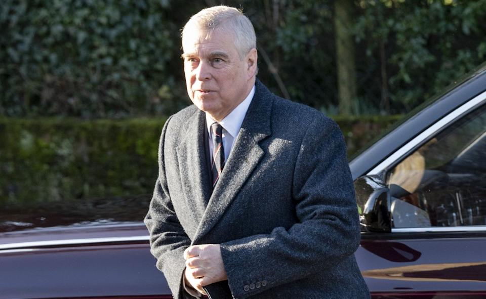 Prince Andrew pictured after stepping down over Jefferey Epstein scandal