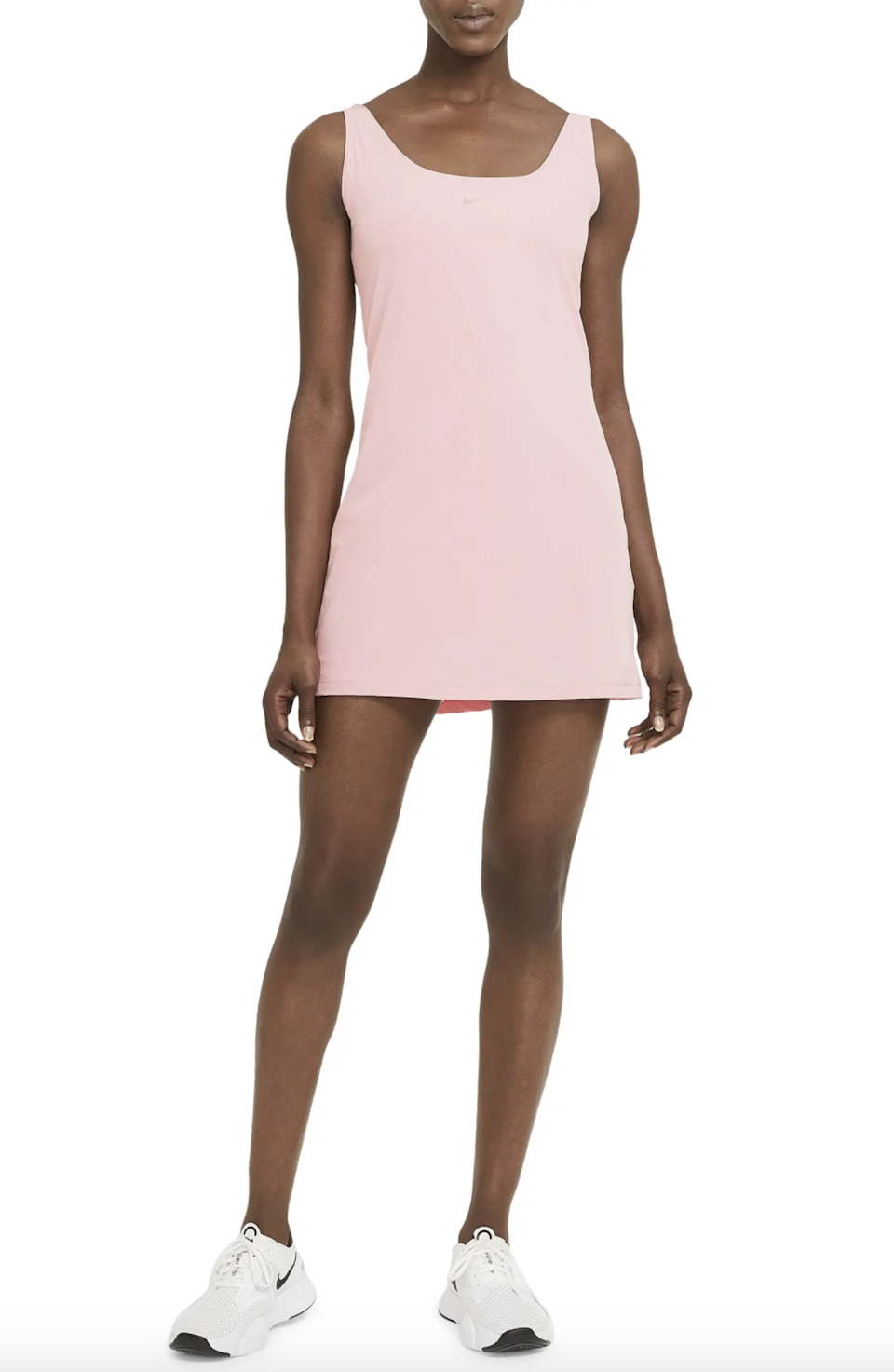 """<h2>Best For Errands<br></h2><br><h3>Nike Bliss Luxe Training Dress<br></h3><br>Featuring a wide scoop-neck and built-in bodysuit, this sweat-wicking dress is perfect for brunch, spin class, and your weekly Trader Joe's run.<br><br><strong>What They're Saying:</strong> """"This is the perfect all-around dress for leisure, hiking, tennis, and more! It's very comfy and light while being very flattering. I bought it in three colors, and even a couple of friends bought this dress after seeing mine!""""<br><br><strong>Nike</strong> Bliss Luxe Training Dress, $, available at <a href=""""https://go.skimresources.com/?id=30283X879131&url=https%3A%2F%2Fwww.nordstrom.com%2Fs%2Fnike-bliss-luxe-training-dress%2F5676530%3F"""" rel=""""nofollow noopener"""" target=""""_blank"""" data-ylk=""""slk:Nordstrom"""" class=""""link rapid-noclick-resp"""">Nordstrom</a>"""