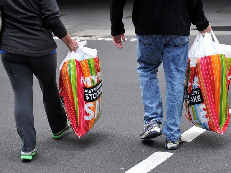 Retail sales up as consumers hit the shops